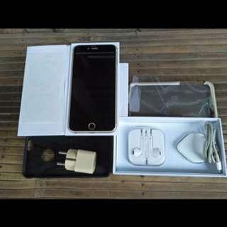 iphone 6plus gold 64 gb mulus full set