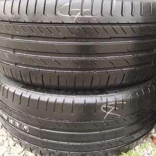 225/45/18 runflat tyre
