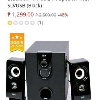 Zeus 2.1 Bluetooth Subwoofer Speaker