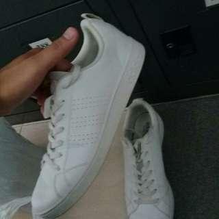 Adidas all white neo