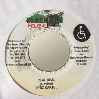 "Vybz Kartel / Nicky B – Real Deal / It's On (7"" Vinyl)"