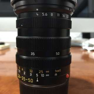Leica Tri-Elmar M 28-35-50 F4 Asperical MATE