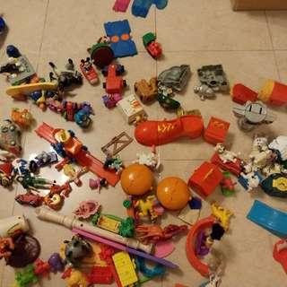 麥當奴玩具 反斗奇兵 花木蘭 史路比 迪士尼