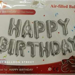"Foil Balloon 16"" - Happy Birthday Set"