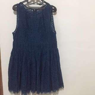 BIGSIZE ! Original Portman Blue Dress