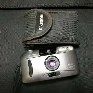 canon prima mini 2 point & shoot film camera