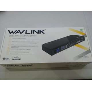 SALE!!! Wavlink USB HD Display Series Docking Station with USB 2.0 USB 3.0