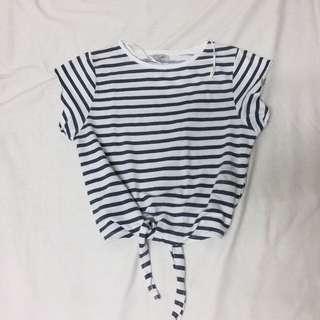 Zara Tie Knot Top