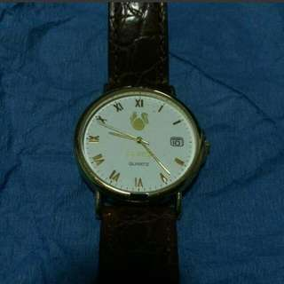 Prevalentine Reprice!!ADI Israel Watch Brown Leather
