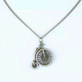 Bicycle/Penny Farthing Necklace