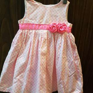 Carter's Pink Polka dress
