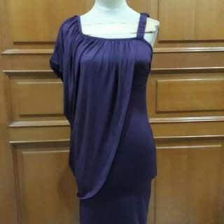Dark Purple Sexy Dress