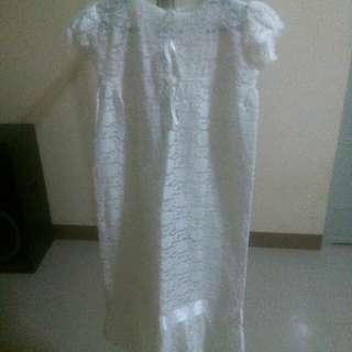 Classic baptismal dress