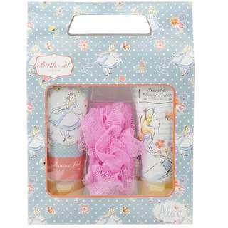 Alice in wonderland shower and hand cream set from Disney store