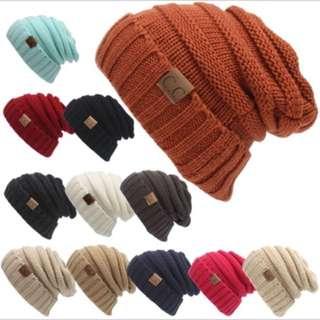 Men Hat beanies sweater knitted autumn winter cap women men unisex 25a8fe058884