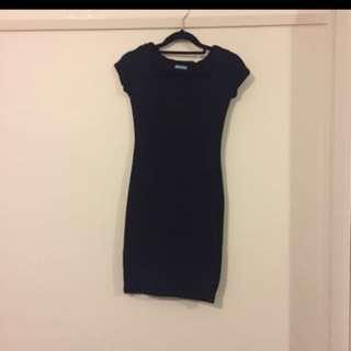Kookai Black Bodycon Dress