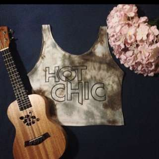HOT CHICK CROP TOP
