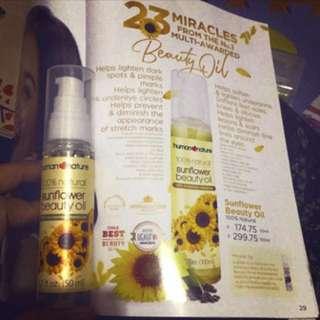 Sunflower Beaty Oil