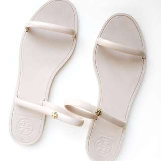 Tory Burch Jelly Sandals in Nude - 37 or 6.5
