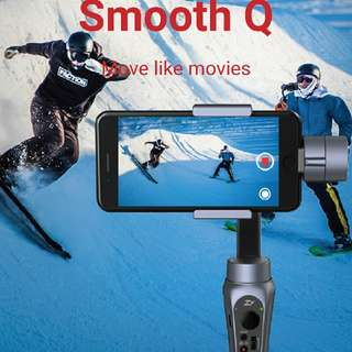 zhiyun gimbal smooth-Q 3-axis smartphone stabilizer