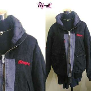 Black & red maong jacket