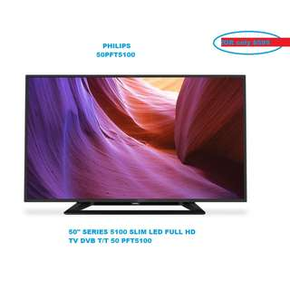 Brand New 50 Inch Philips TV With 1 Year Warranty