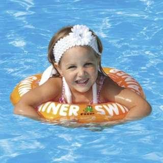 🌟New Fred Swimtrainer Orange - 2-6 yrs