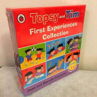 Topsy and Tom First Experiences collection (10 books)