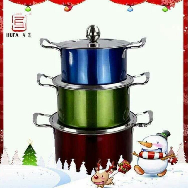 3pcs pot set