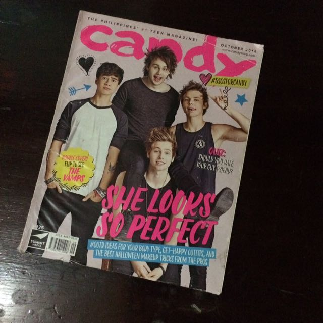 5SOS & THE VAMPS CANDY MAGAZINE
