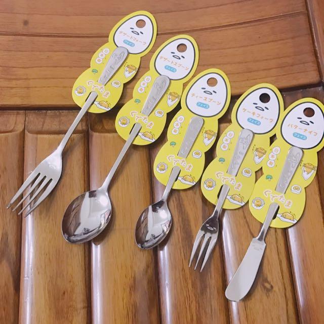 蛋黃哥 餐具組