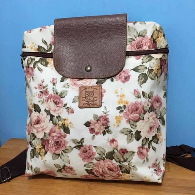 古典玫瑰防水後揹包 #我有後背包要賣 #含運最划算