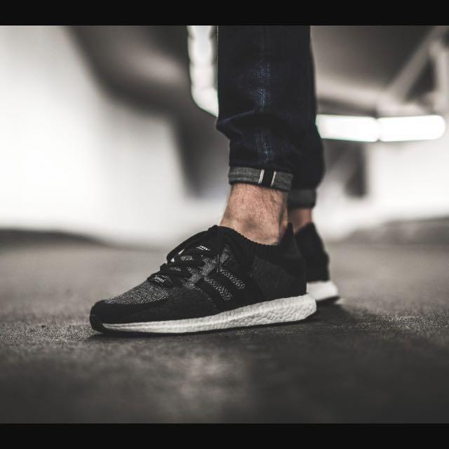 adidas Originals EQT Support Ultra Primeknit (Core BlackCore BlackFootwear White)