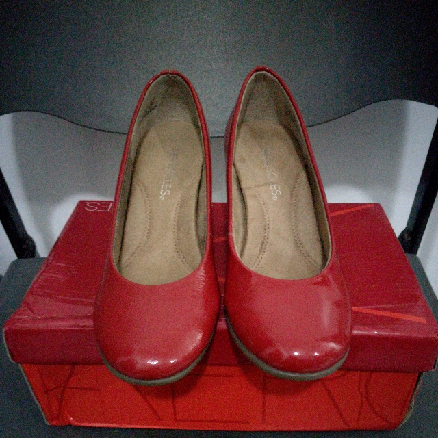 Aerosoles Red Wedge Pumps