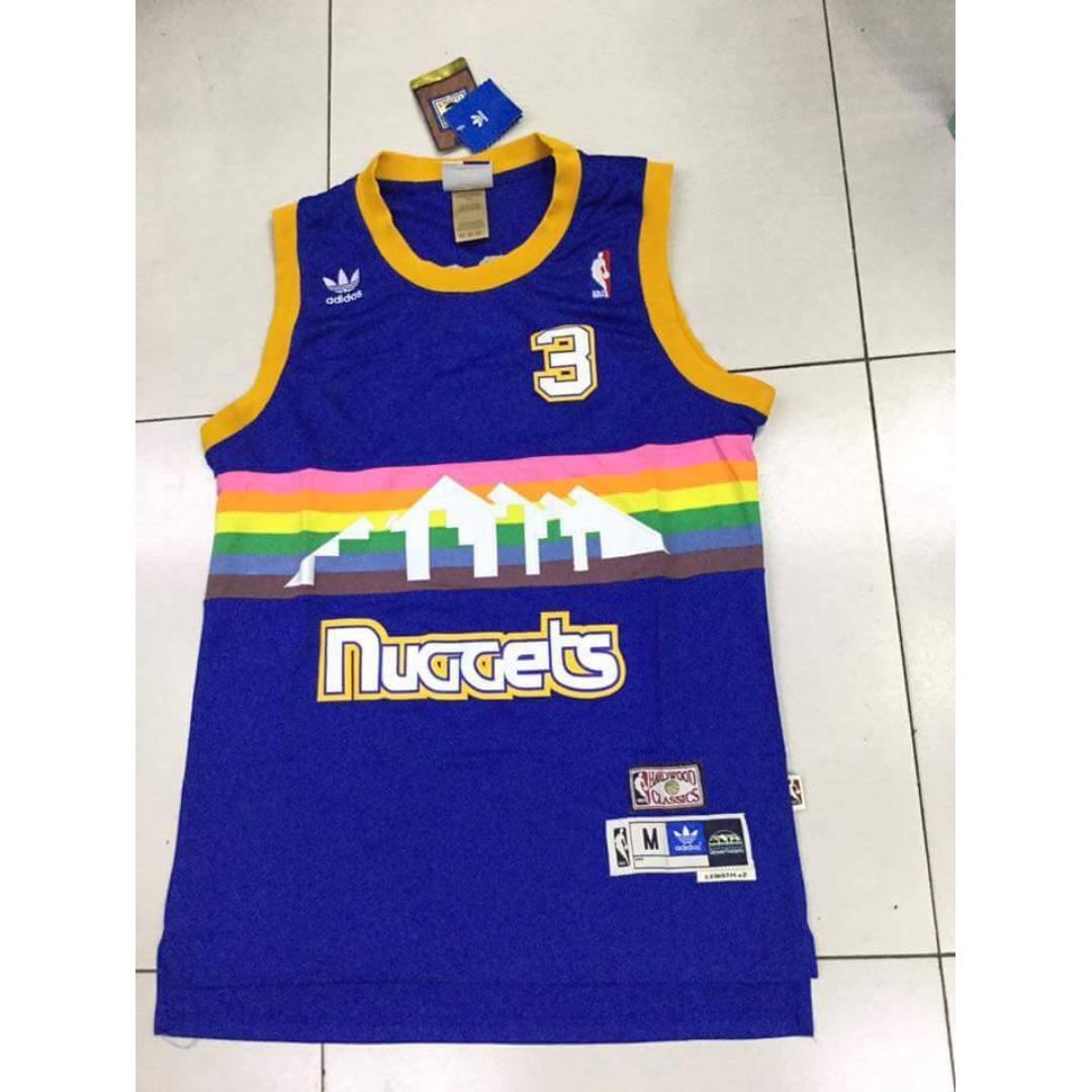 Allen Iverson Denver Nuggets Jersey from Vietnam