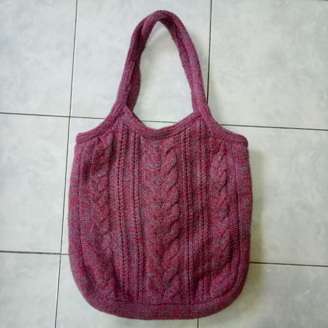 American Eagle Outfitters Knitted Bag