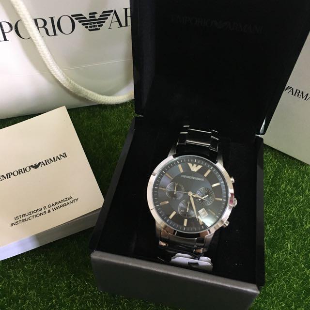 Armani 男生手錶