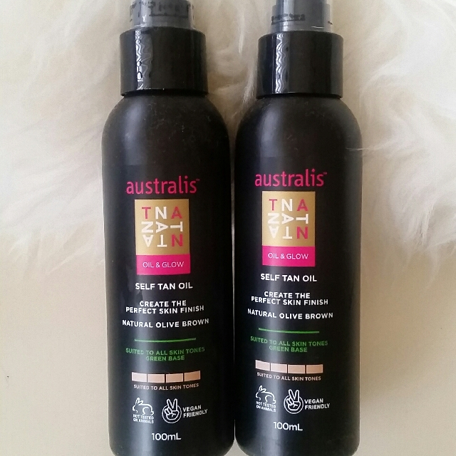 Australis self tan oil x2