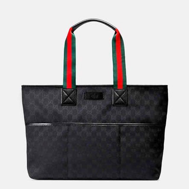 b85a6edb4ed0 Authentic Gucci Fabric medium zipper tote bag, Luxury, Bags ...