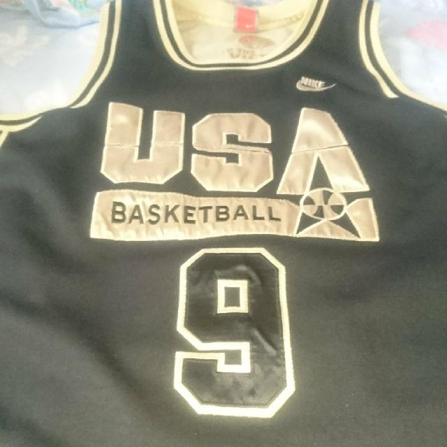 Authentic Michael Jordan Nike Dream team jersey All sewn
