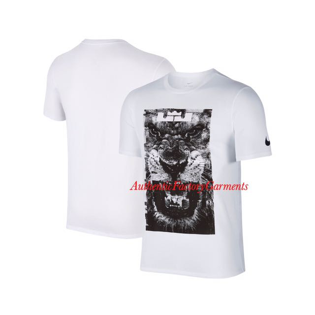 1ac572b7 Authentic Nike Lebron James Lion Tee (M), Men's Fashion, Clothes on  Carousell