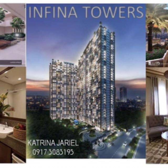 AVAIL 1 Bedroom with Parking slot PHP 16,998.28 per month