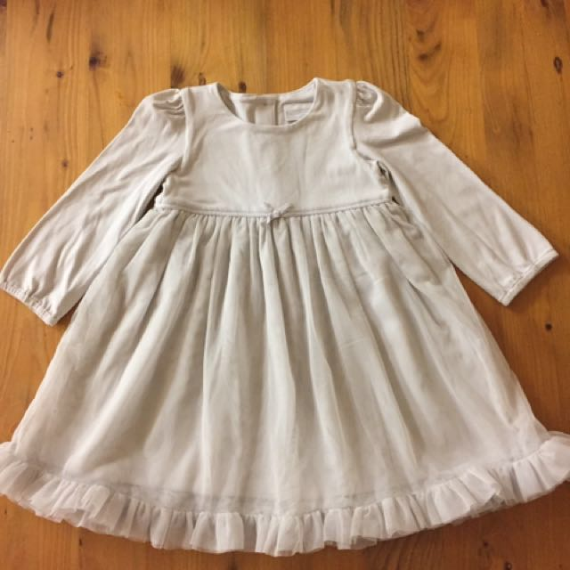 Baby Girls Tulle Dress - Size 9-12 mths