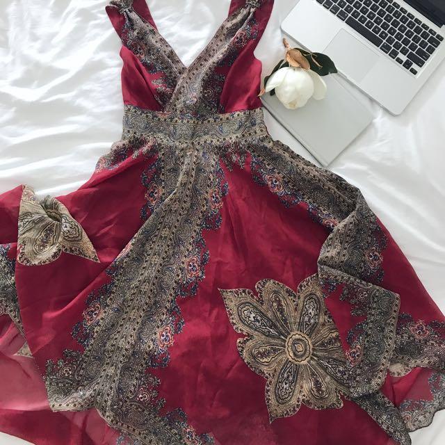 Balinese Midi Dress