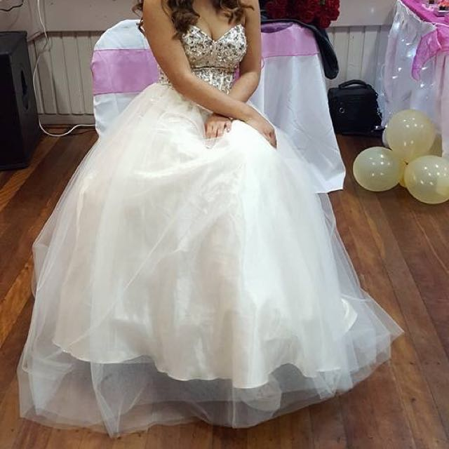 Beautiful Sequin Ball Gown/ Formal Dress