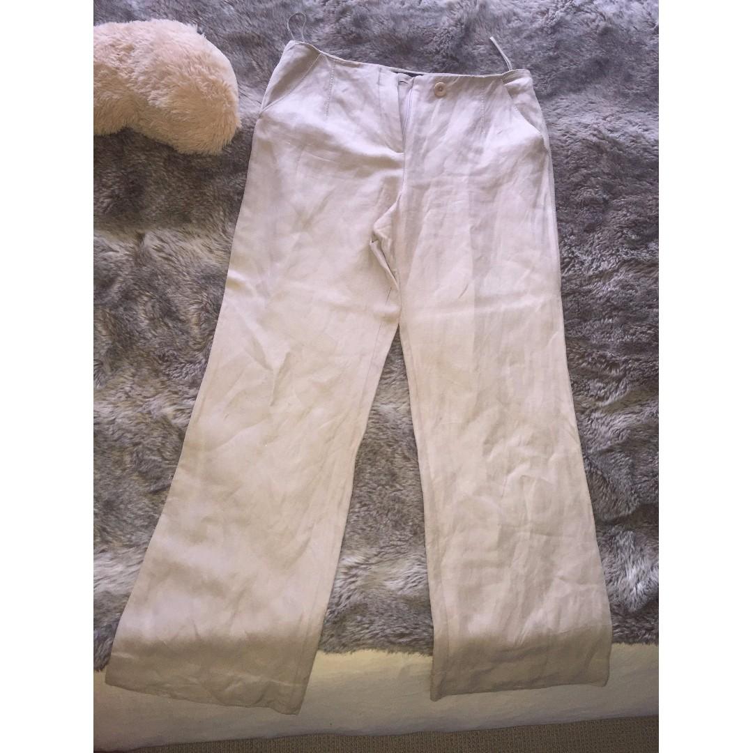 Beige E'sensual Pants