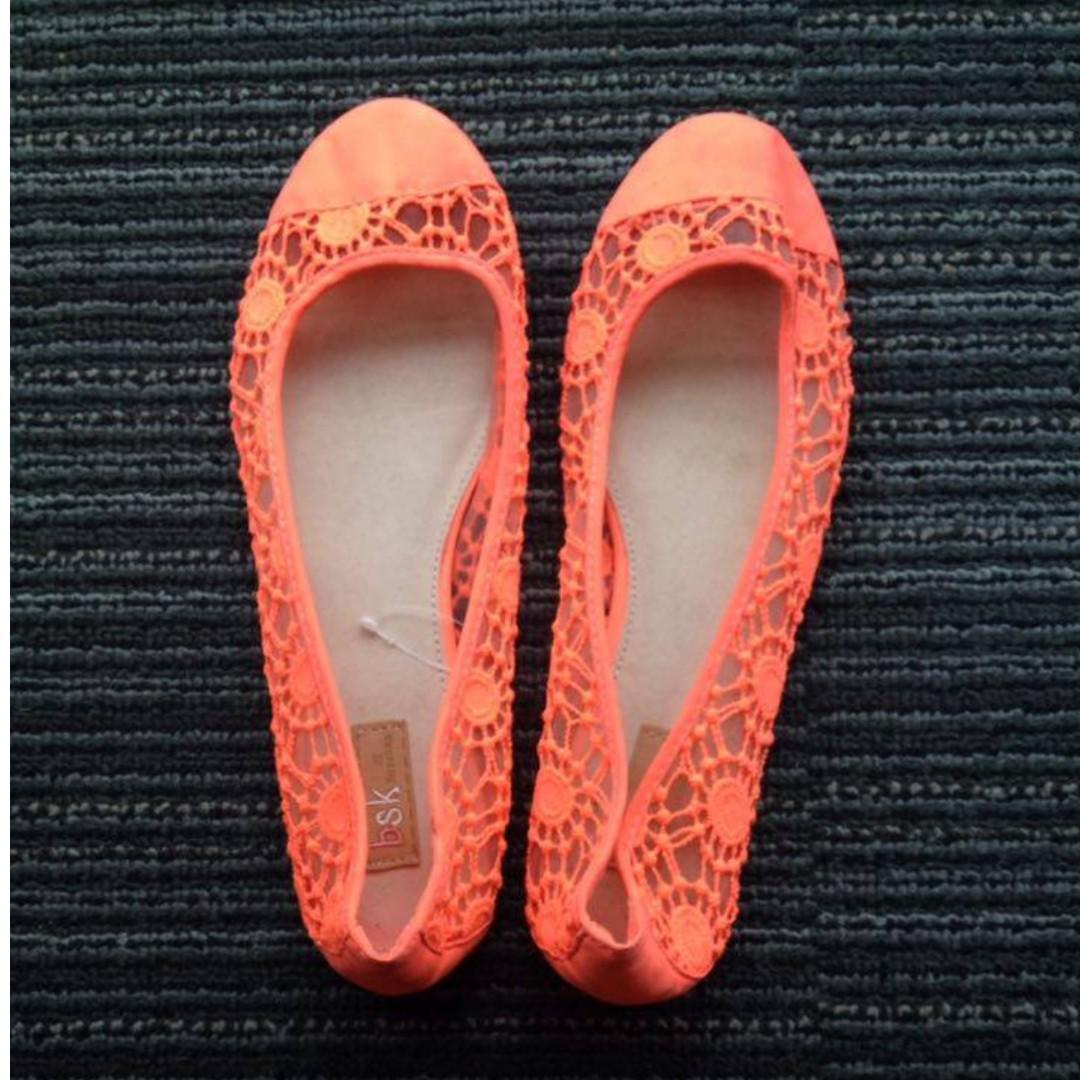 Bershka Flats/Doll Shoes