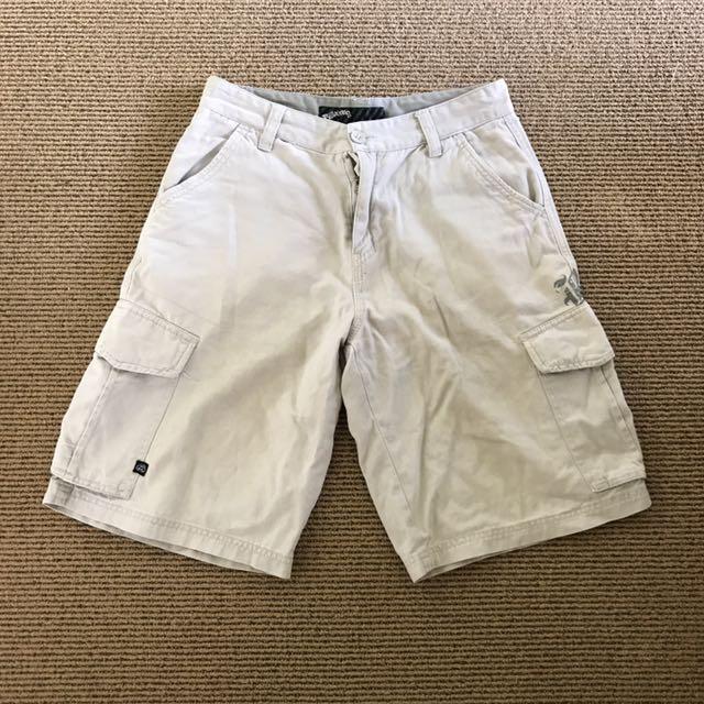 BILLABONG Tan Cargo Shorts