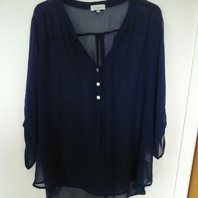 Blue eazibuy buy top size 20