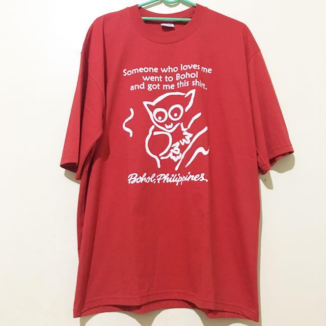 Bohol Souvenir shirt